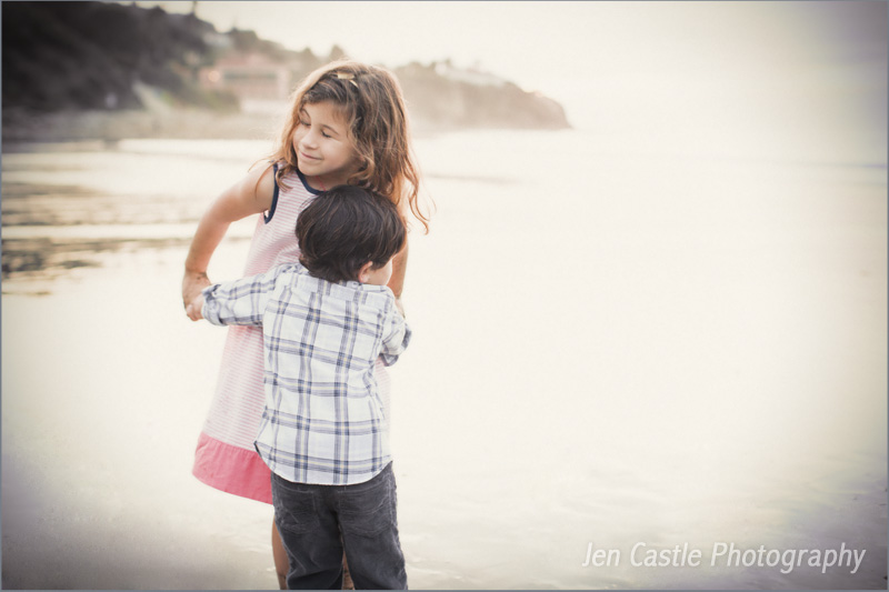 family portraits, ©Jen Castle Photography, Los Angeles, Palos Verdes, Malaga Cove, Beach, Christmas, holidays